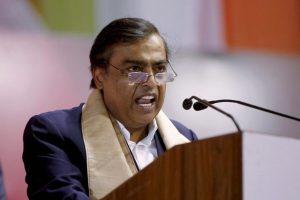 A file photo of Reliance Industries chairman Mukesh Ambani. Photo: PTI