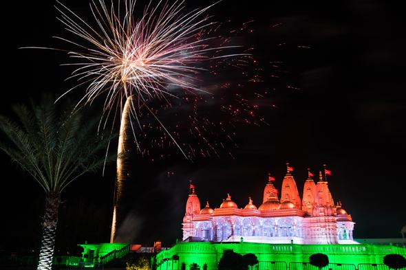 BAPS Shri Swaminarayan Mandir's Annual Diwali Celebrations