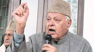 """Farooq Abdullah said granting """"regional autonomy"""" to various regions of the state would restore the rights of the people and it was something which the state government did not have to seek from the Centre. (PTI/File)"""