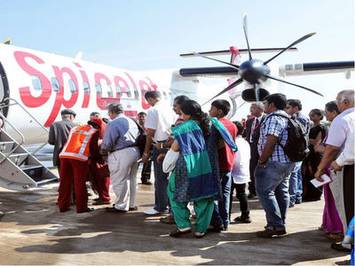 SpiceJet has been working closely with Japan's Setouchi Holdings to explore opportunities for small 10 to 14-seater amphibious plane