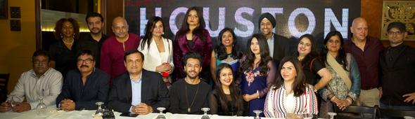 Organizers and the Radio Dabang team with Sonu & Neha Kakkar during the exclusive meet and greet at Mai Colachi restaurant on Thursday, November 16.