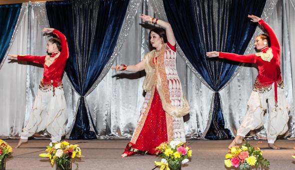 Dance peformace by Keka Kar