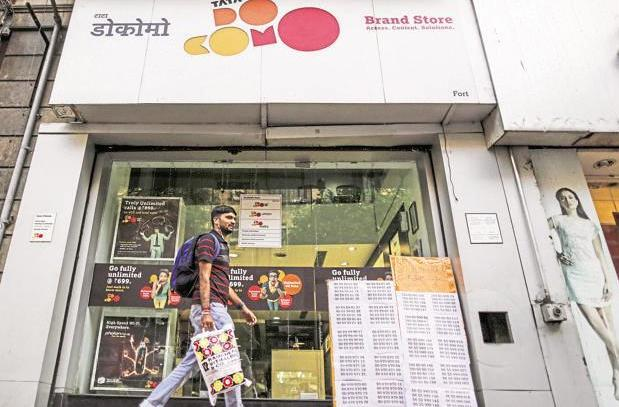 Docomo says it has received over $1.2 billion from Tata Sons, ending the two-year-old dispute over their Indian telecom joint venture. Photo: Bloomberg