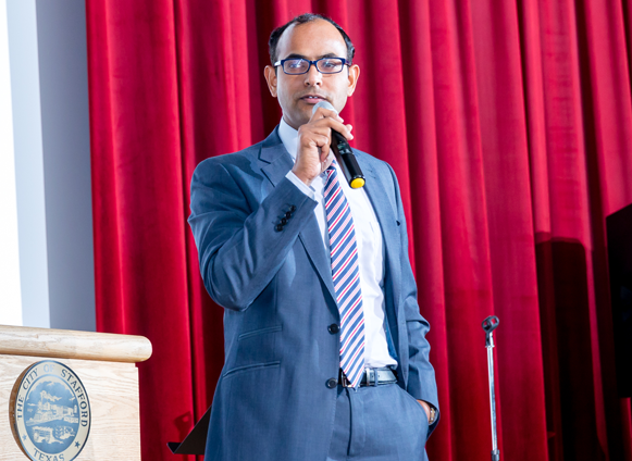 Indian Deputy Consul Surendra Adhana commented on growth in India's healthcare sector