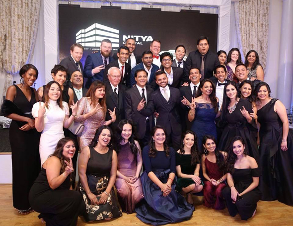 Nitya Capital & Karya Property Management team at the recently held Christmas Gala.