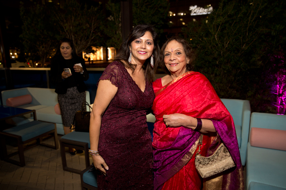 Zeenat Mitha and Leela Krishnamurthy (right)