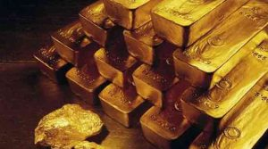 Globally, gold fell 0.06 per cent to USD 1,274.80 an ounce in Singapore. (File/Photo)