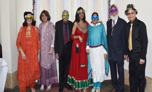 From left: N. Pasha, S. Chunawala, K. Rahim, P. McGuire, A. Kanorwala, H. Kanorwala, J. Pasha