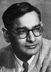 Har Gobind Khorana as a young man