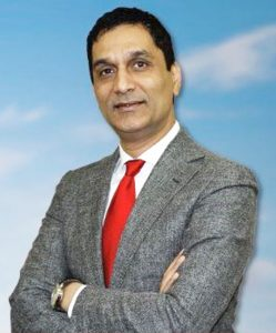 Pakistani American Tahir Javed, the CEO of Riceland Healthcare, is running for Congress in Texas' 29th congressional district. (Website Picture)