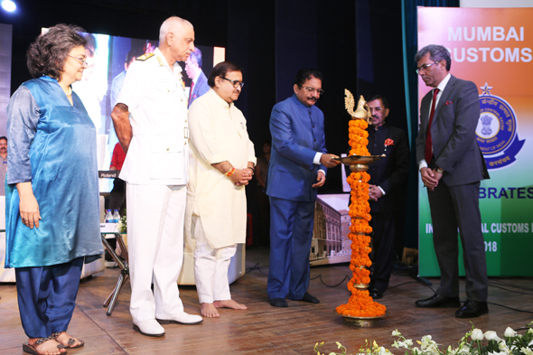 Maharashtra Governor Shri Vidyasagar Rao at International Customs Day '2018