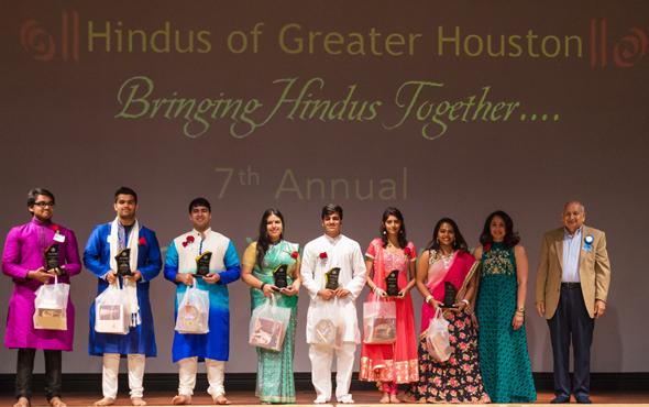Mukund Nair, Harsh Mehta, Siddhant Ahuja, Govinda Ramirez, Shial Gajjar, Nikita Zamwar, Haripriya Sundara Murthy, Suhag Shukla (Chief Guest), and Devinder Mahajan. Picture from last years award ceremony.