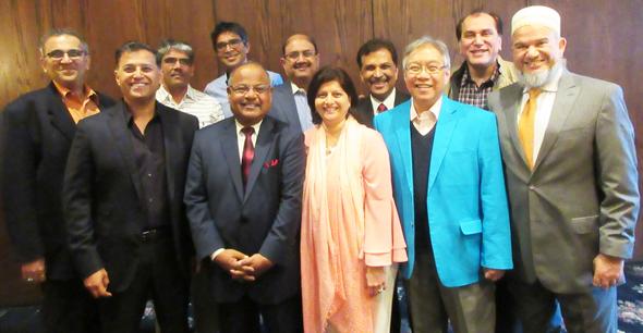 The Advisory Board of IMAGH with Chairman Abeezar Tyebji (right)