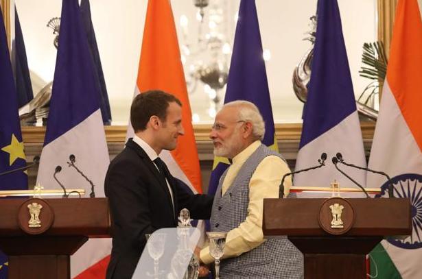 Modi & Macron