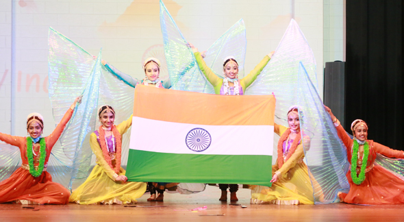 Champion Studio Mudra School of Dance, Patriotic Dance Unity in Diversity