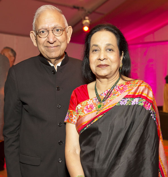 Board director Dr. Durga & Sushila Agrawal (2017 honorees)