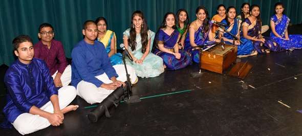 ISKCON youth singing shlokas