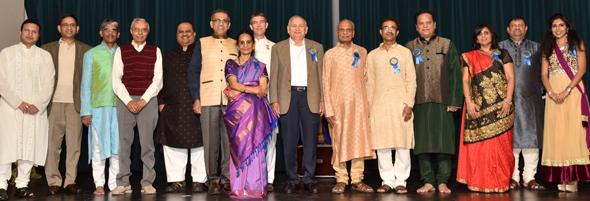 From left: Vinod Mantri, Gopal Agarwal, Vijay Pallod, Ramesh Bhutada, Swapan Dhairyawan, Thara Narasimhan, Mark Ram, Devendra Mahajan, Sharad Amin, Bhagawan Bhutada, Partha Krishnaswamy, Bhawna Luthra, Girish Naik and Komal Luthra.