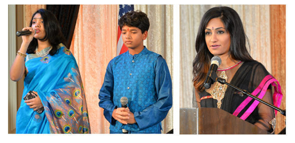 Apurva Ghosh and Prasun Kolhe & Rashi Vats of Fox 26, Emcee