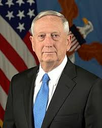 US Defense Secretary Jim Mattis