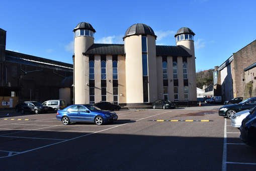 The Dundee Mosque on a Friday afternoon