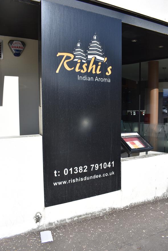 Rishi restaurant across from Jehangir