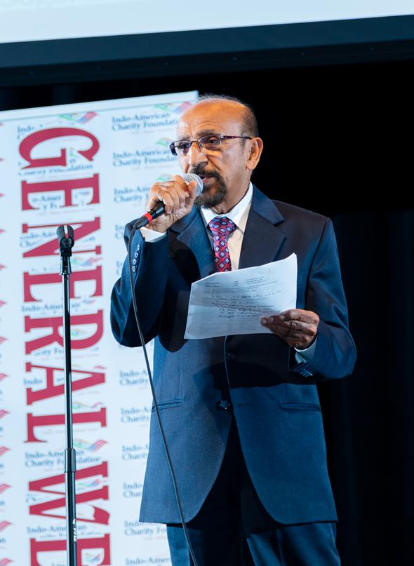 Mahesh Wadhwa, IACF President.