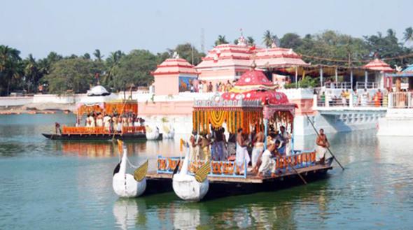 Chandana Jatra, Puri, Odisha, India.