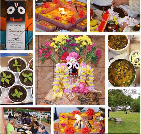 Akshaya Tritiya at Shri Jagannath Dham, Houston, Texas.