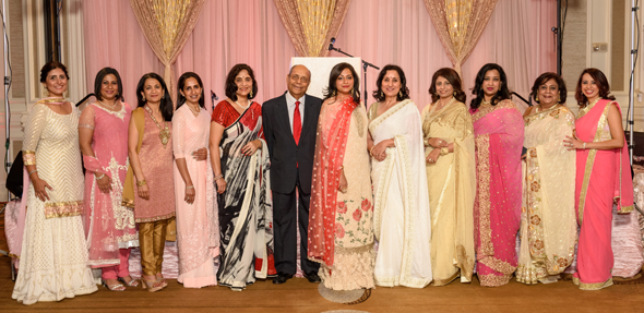 Save A Mother Houston Chapter Board at the 10th Annual Gala, held on Sunday, May 6 at Sugar Land Marriott. Photos: Bijay Dixit