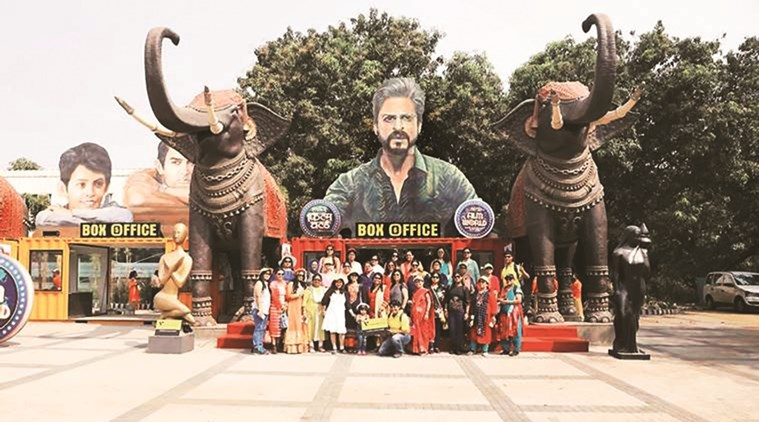 A view of Bollywood theme park.