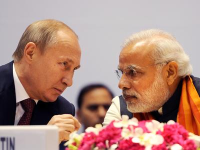 PM Narendra Modi will hold informal talks with Russian President Vladimir Putin in Sochi on Monday.