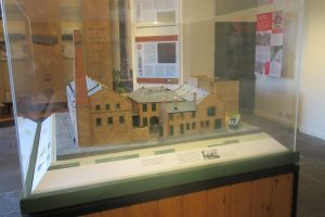 A model of the Verdant Works factory as it still is today