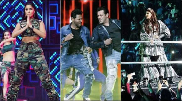Da-Bangg Reloaded: Salman Khan, Katrina Kaif, Jacqueline Fernandez and Prabhudheva set the stage on fire in Chicago.