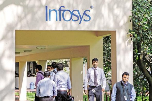 Infosys recently said its Pune campus has become the largest in the world to earn LEED Platinum Certification from the US GreenBuilding Council. Photo: Bloomberg