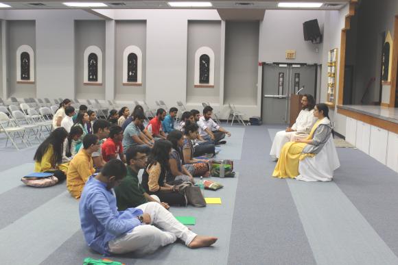 Insightful lecture by Acarya Vivekji and Brni. Shweta Chaitanya