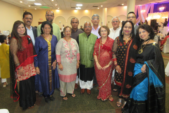 Board members of IMAGH, Club 65 and SAYA pose with other volunteers at the Eid Al Adha celebration at Savoy Banquet  Hall last Sunday, September 9
