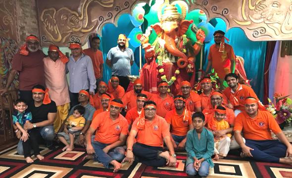 Shiv Shakti Mandir Celebrates 8th Ganesh Utsav with Gaiety