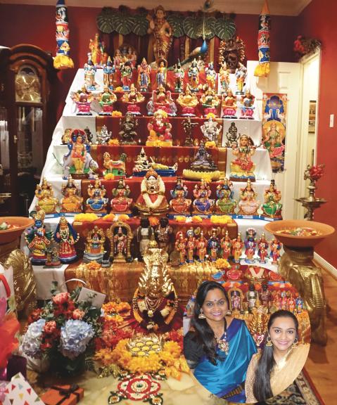 Luckmi Pawa with her daughter Ria