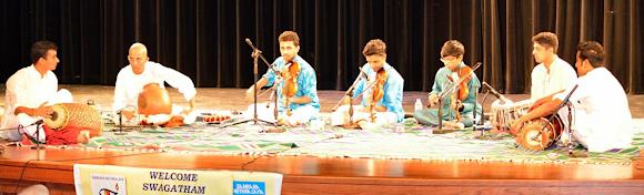 From left: Vignesh Venkataraman, Sowmiya Narayanan, Abhisek Balakrishnan, Kamalakiran Vinjamuri, Sanjith Narayanan, Aditya Srivatsan, and Karun Salvady.