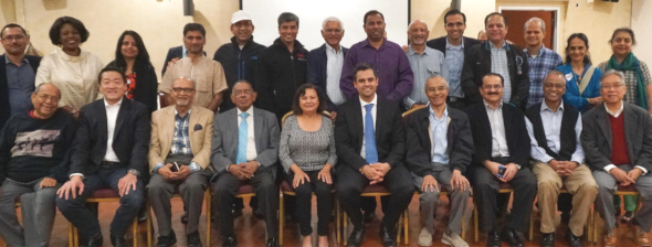 On October 17, community leaders from various communities came to support Sri Preston Kulkarni.