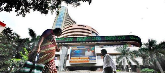 The BSE Sensex plunged 792.17 points to end at a near six-month low of 34,376.99, while the broader NSE Nifty dropped 282.80 points to 10,316.45.