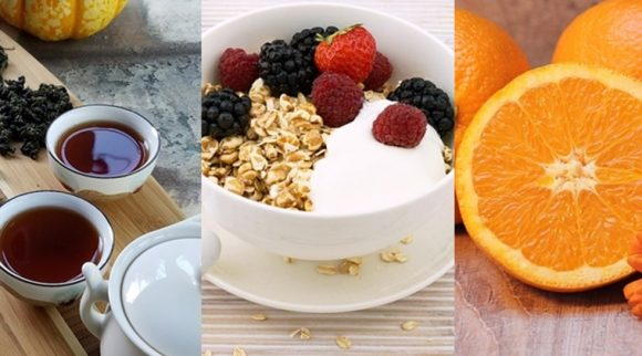 From yogurt to oranges and black tea, food that prevent flu and cold. (Source: Pixabay)