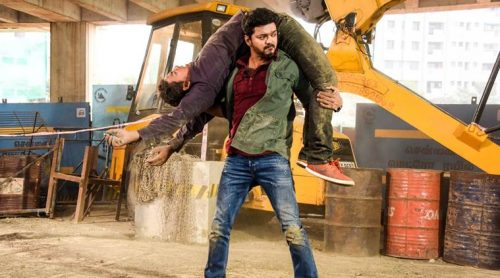 Sarkar movie review: Vijay's Sarkar fails to live up to the hype. (Photo credit: Sun Pictures/Twitter)