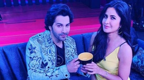 Varun Dhawan and Katrina Kaif on Koffee with Karan.