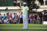 Anirban Lahiri Hasn't Looked Back since a Meeting with Tiger Woods Last Year