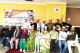 Local Supporters Gather to Celebrate AAP Victory
