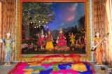 A Magical Experience of Colors at  Radha Madhav Dham, Austin