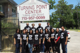 Club 24 Visits Turning Point Center