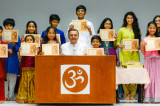 Children Enchant with the Gita  at Chinmaya Prabha